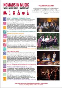 Programma Nomads in Music 2016